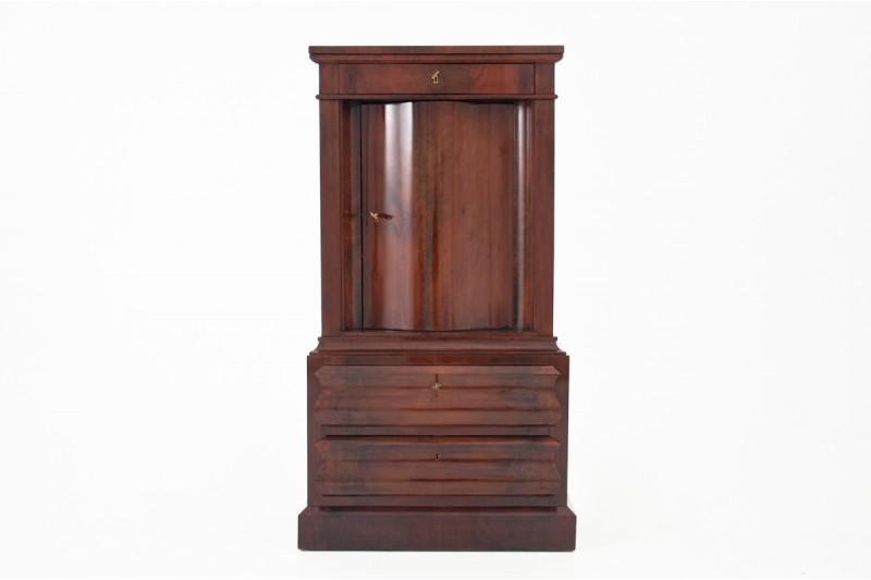 Zabytkowa komoda - barek z ok. 1860 roku. PO RENOWACJI