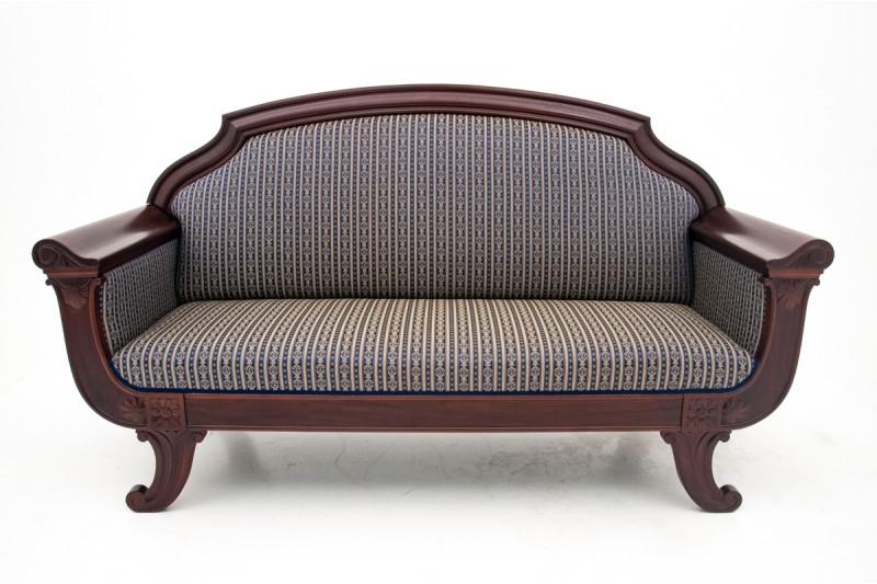 Sofa w stylu Biedermeier z poł. XIX w.