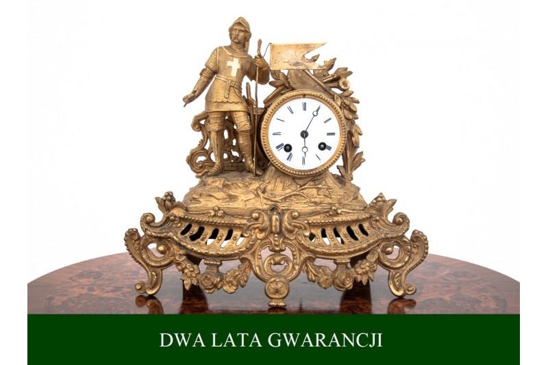 Francuski zegar, koniec XIX w. PO PRZEGLĄDZIE.