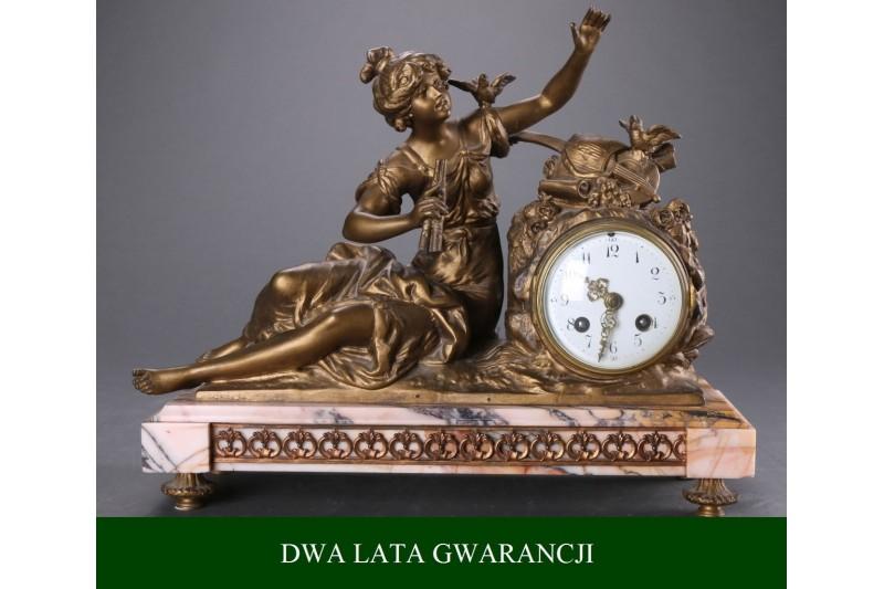 Zegar kominkowy, 1900 r.
