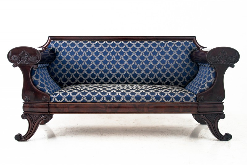 Antyczna sofa Biedermeier