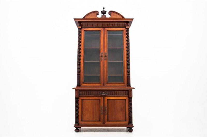 Biblioteka z końca XIX wieku. PO RENOWACJI.