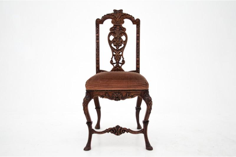 krzesło antyk sklep rzeźbienia