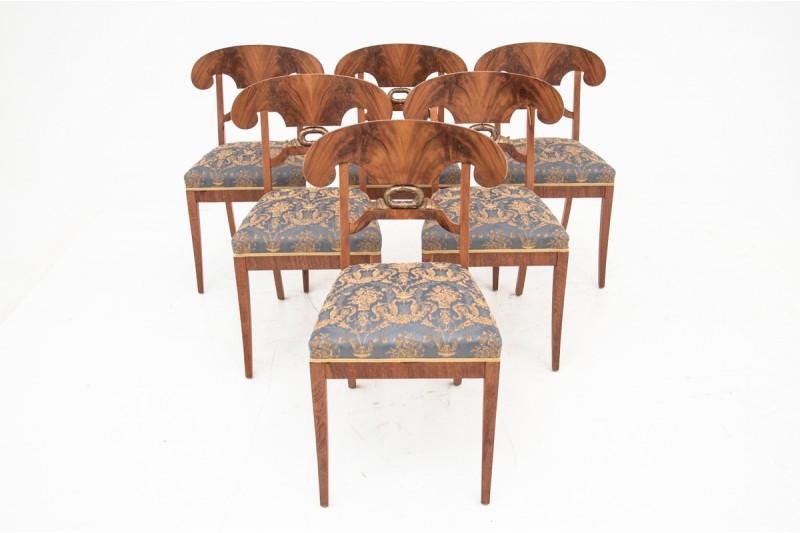 krzesła biedermeier sklep antyki
