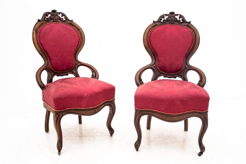 krzesła fotele styl ludwikowski sklep