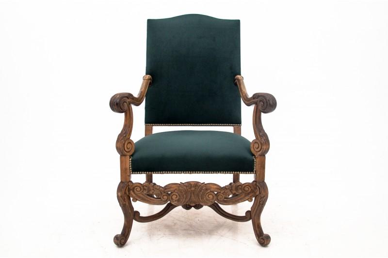 Fotel antyczny z około 1900 r
