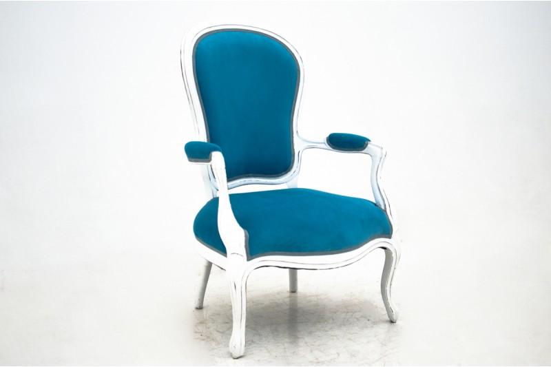 Fotel z początku XX wieku. PO RENOWACJI.