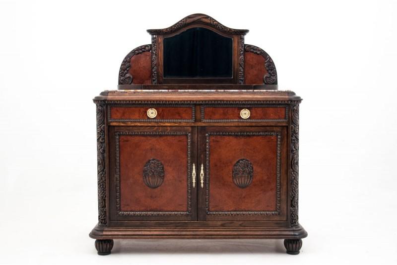 Neorenesansowa komoda - pomocnik z około 1900 roku