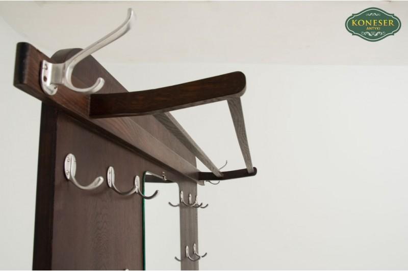 garderoba wieszaki na płaszcze antyk drewniane