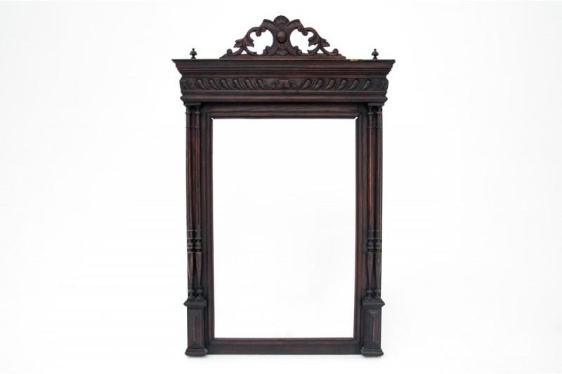 stare lustro rzeźbione
