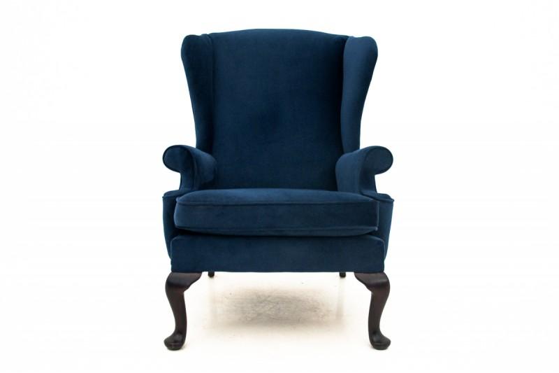 antyczny fotel uszak