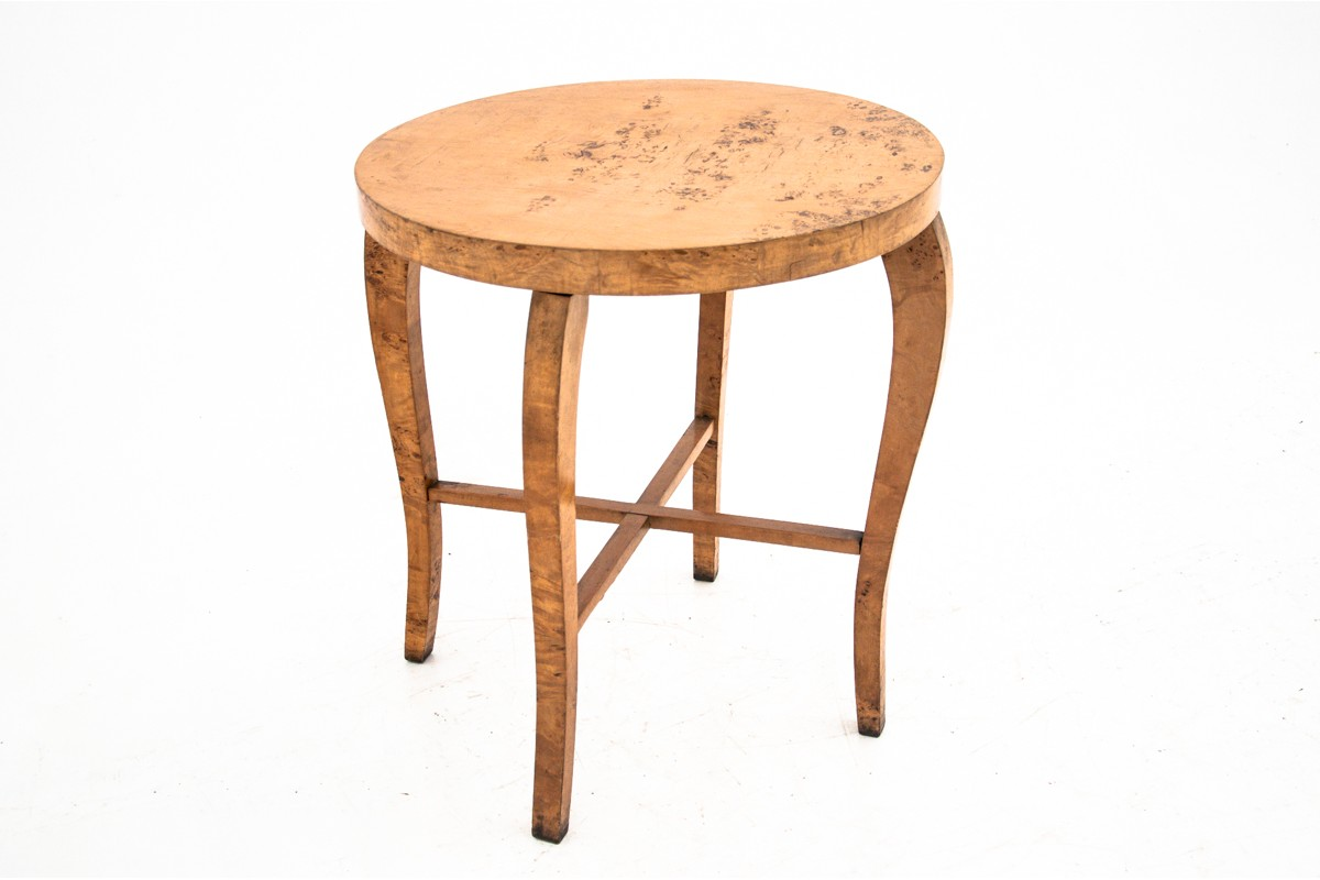 A Table In The Art Deco Style From Around 1950