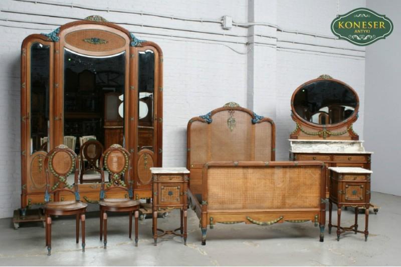 Sypialnia w stylu Ludwika XVI